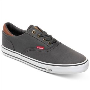 Levi's Ethan Perf Wax Charcoal & Tan Sneakers